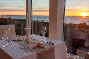 Dinner for two on the 10th floor of Meresuu SPA & Hotel