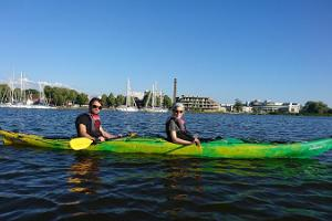 Kayaking on Pärnu Bay with Seikle Vabaks