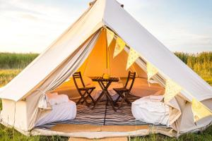 Glamping Pop-up -hotelli