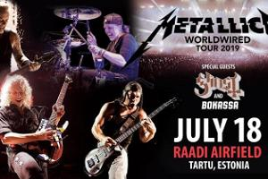 "Ansambli Metallica maailmaturnee ""WorldWired Tour 2019"""