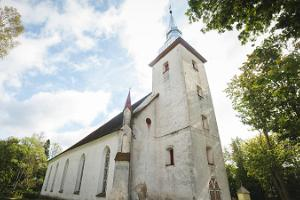 Estonian Evangelical Lutheran Church Virgin Mary Church in Torma