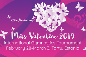 International Gymnastics Tournament Miss Valentine