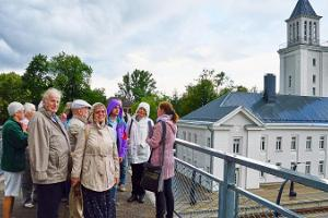 Walk in the historic Valga-Valka twin city