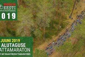Cross-country bike marathon at Alutaguse