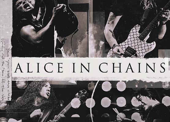American rock band Alice In Chains - 2019 Tour