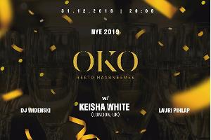 Enjoy NYE with your friends in OKO
