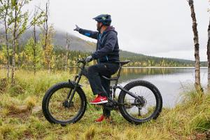 Electric bicycle tours