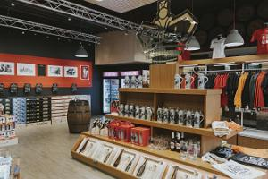 A. Le Coq Beer Museum, gift shop