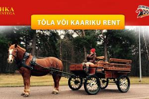 Renting a carriage or a cart