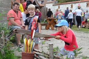 Medieval Activity Centre Archebald in Saare County