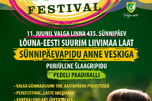 "Festival ""Sound of Livonia"" at the twin cities Valga and Valka"