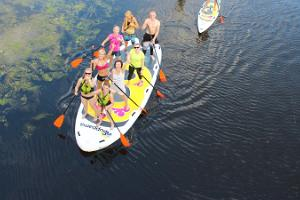 SUP board 'Mürakas' for a group on Pirita River