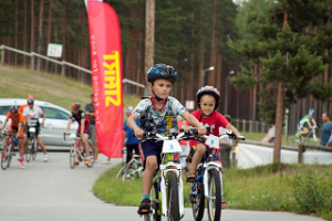 Mountain bike trails in the pine forests of Jõulumäe Sports and Recreation Centre