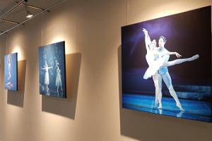 Exhibition in the seminar hall during the Ballet Festival