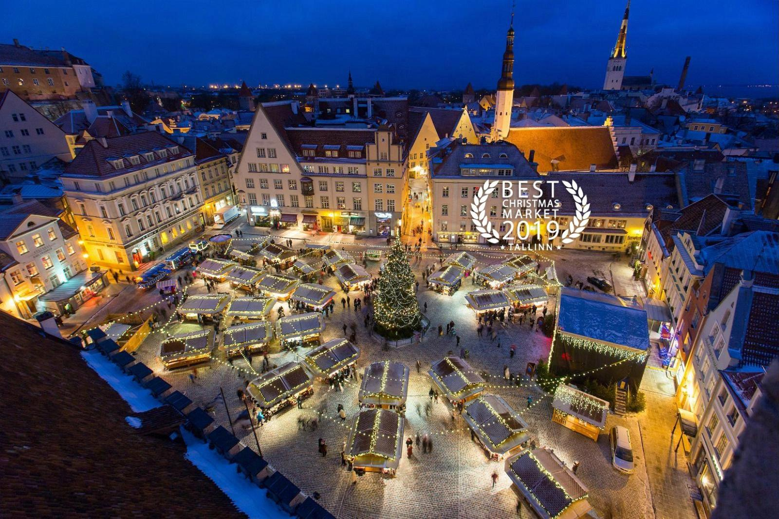 Christmas Markets Europe Tallinn