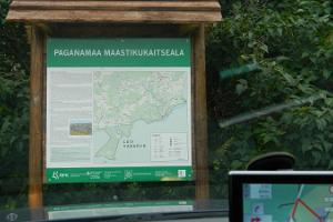 Hiking trails in Paganamaa Landscape Protection Area