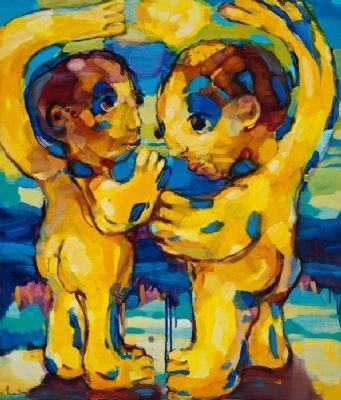 "International Nude Art Exhibition ""MAN AND WOMAN"""