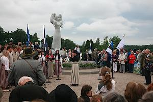 Inauguration of the Monument to the Estonian Mother