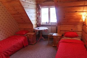 Accommodation in the Vaskna Tourist Farm
