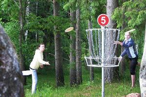 Disc-Golf in Mammaste