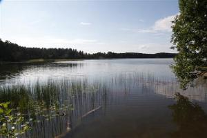 The picturesque Lake Pullijärv