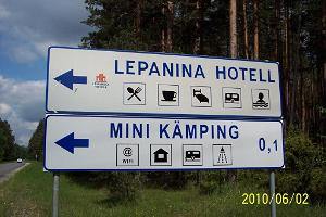 Leirintäalue Mini Kämping