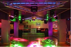 Geneva night club - dancefloor