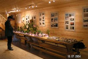 Sillaotsa farm museum seminar room – exhibition of medicinal plants