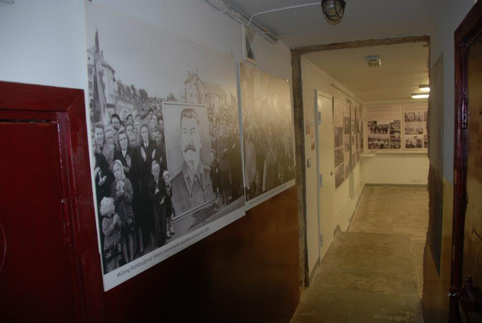 'Soviet Propaganda in Press Photography 1944-1985' exhibition at the KGB Cells Museum