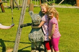 SetoKids Playland - wooden sculpture