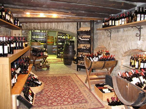In Vino Veritas - Wine Cellar