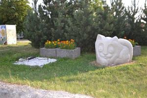 Limestone Sculptures in Paide Town