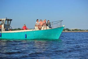 Boat trip along the Pärnu River and in the Gulf of Riga